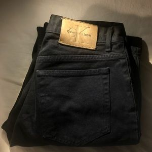 Calvin Klein Black Denim Pant